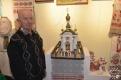 автор церкви Козлов Ю.П., макет церкви апостолов Петра и Павла, а/г Бацевичи