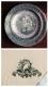 Блюдо Российская Империя, фарфоровый завод  пос.Елизаветино, промышленная роспись, столовая посуда, начало ХХ века.